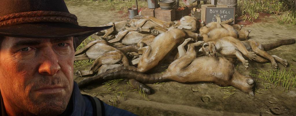 Glitch in Red Dead Online sorgt für viel Geld und Berge toter Pumas
