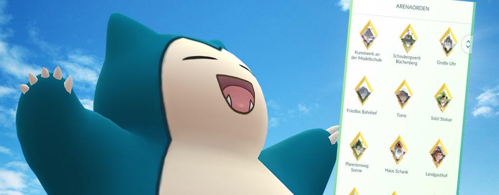 Pokémon GO: Deshalb lohnt es sich jetzt eure Arena-Orden hochzuleveln