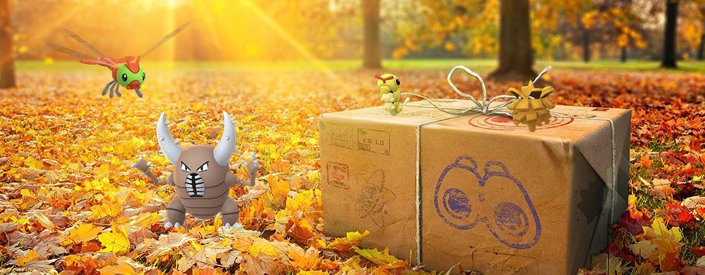 Käfer-Event in Pokémon GO bringt einen ganz neuen Bonus