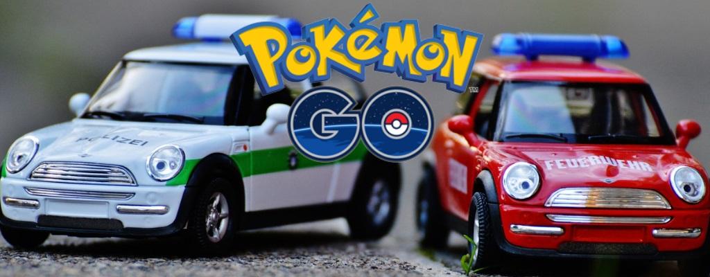 Diese Arena in Pokémon GO ist umkämpft von Feuerwehr und Polizei