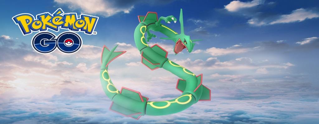 Rayquaza kommt zurück zu Pokémon GO, aber nur kurz