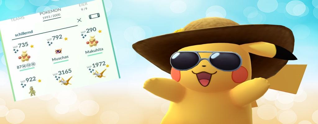 Suchfunktion in Pokémon GO: Alle Suchbegriffe für die Leiste in der Übersicht