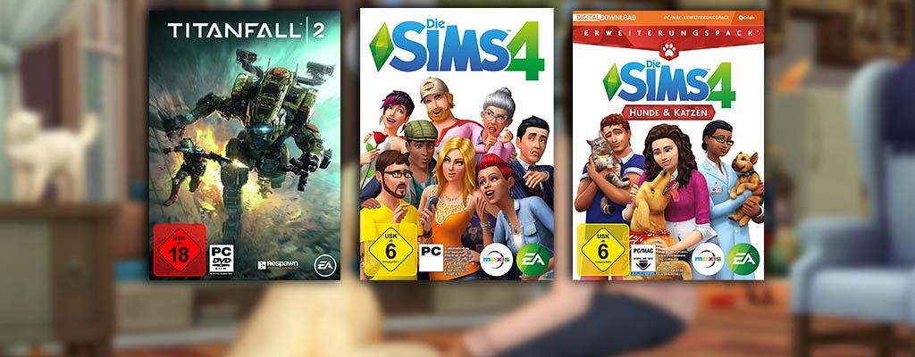 Die Sims 4, Titanfall 2 und weitere Spiele zum Bestpreis bei Amazon