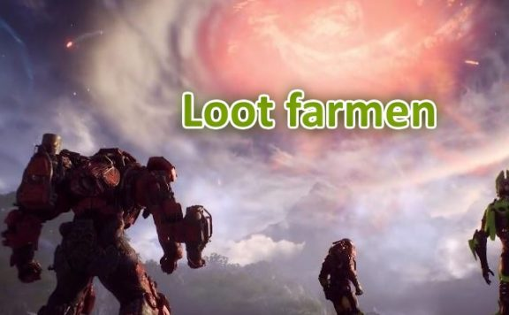 Anthem Loot farmen Titel