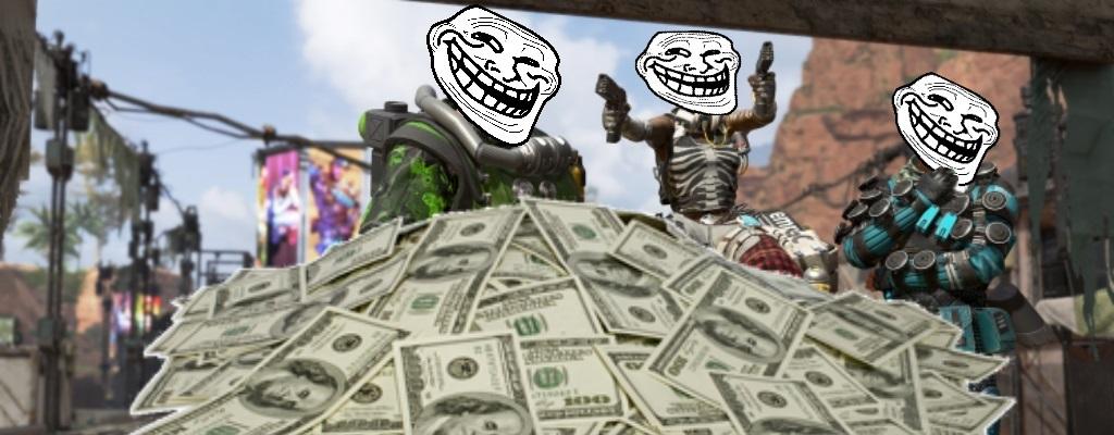 """Cheat-Verkäufer in Apex Legends prahlt: """"Ich mach 5.000$ in einer Woche"""""""