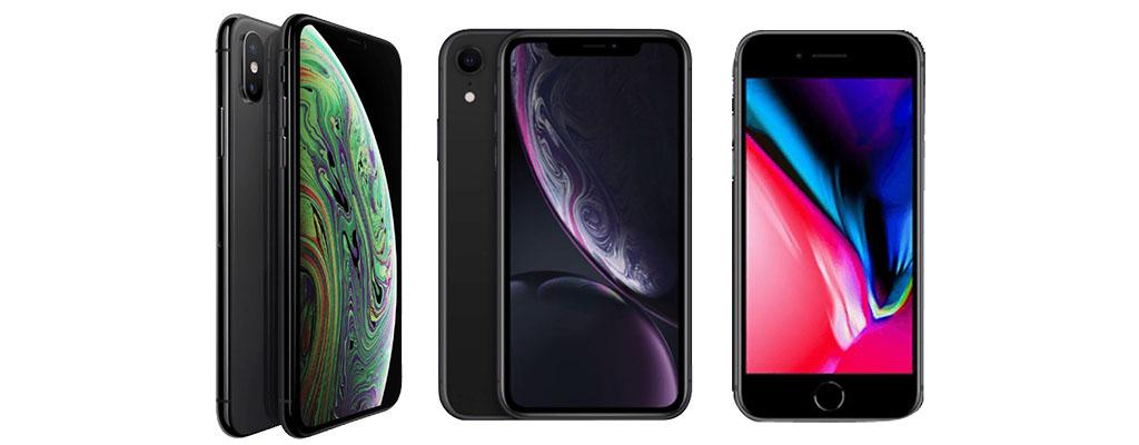 Apple iPhone XR und iPhone 8 im Angebot bei MediaMarkt