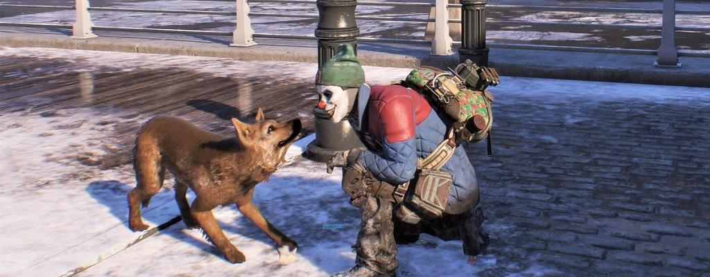 Warum tausende Agenten verängstigte Hunde in The Division 2 retten wollen