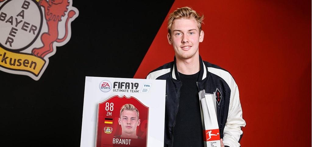 Julian Brandt ist bei FIFA 19 der Spieler des Monats – So bekommt Ihr ihn