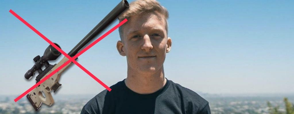 """Fortnite: Tfue sagt """"Snipern braucht keinen Skill"""", sei nur Glück"""