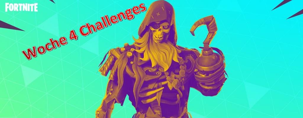 Fortnite: Alle Herausforderungen von Woche 4 (S8) und wie Ihr sie löst