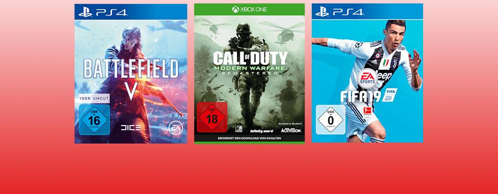 Gönn Dir Dienstag: Battlefield 5, FIFA 19 und CoD im Angebot