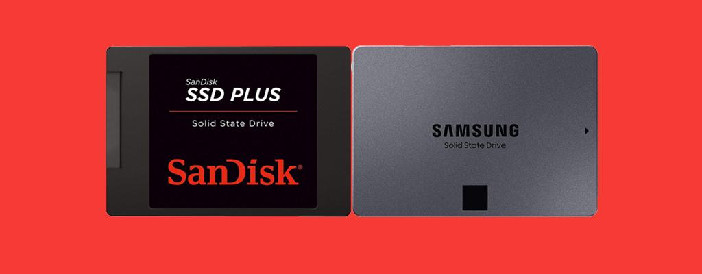 SSDs von Samsung und SanDisk im Sale bei Amazon
