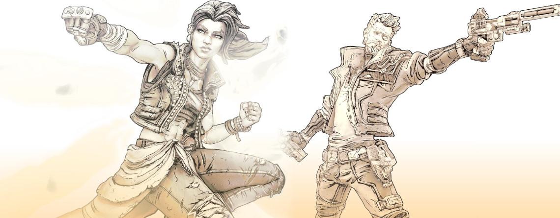 Borderlands 3: Hier sind 4 Zeichnungen der Charaktere und sie sind echt schick