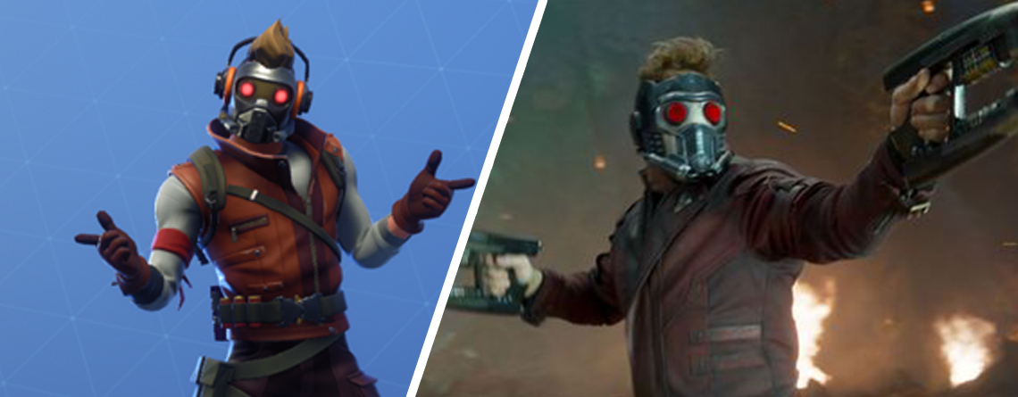 Fans stellen in Fortnite Szene aus Guardians of the Galaxy nach und es ist saulustig