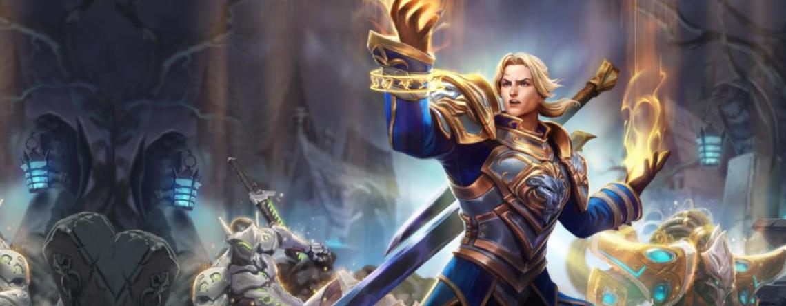 Heroes of the Storm: Anduin Wrynn wird ein ziemlich cooler Heiler im Nexus