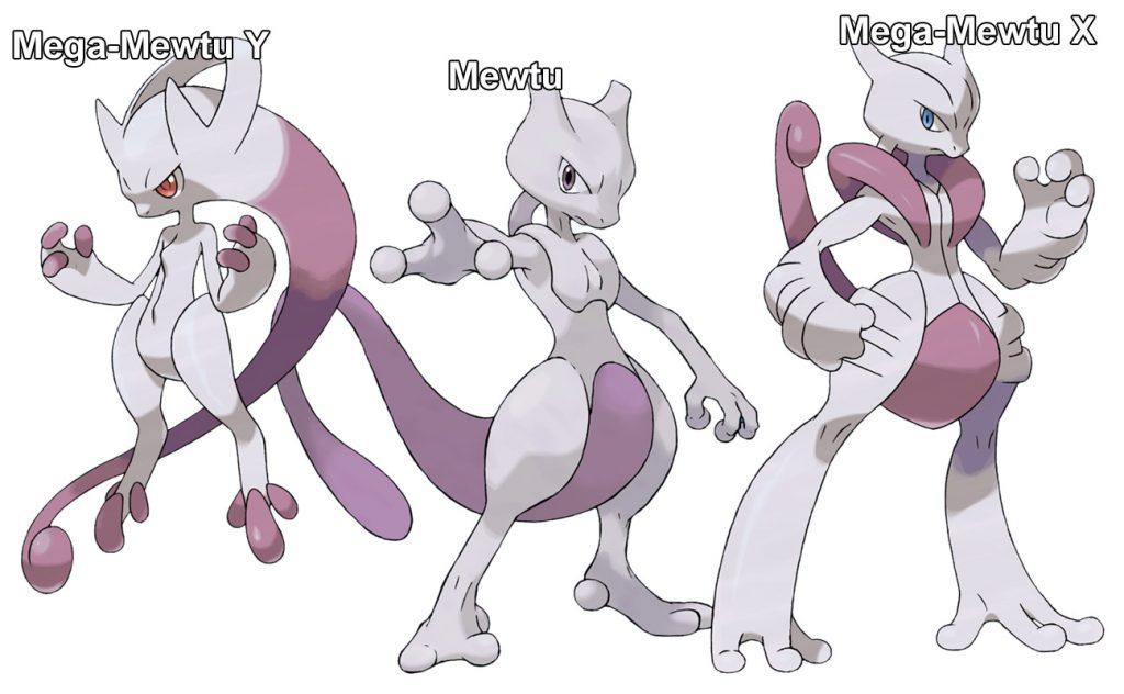 Pokemon Go Mega Mewtu