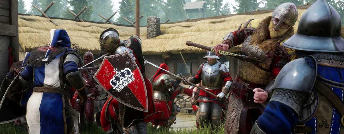 Mordhau verspricht brutale Schwertkampf-Schlachten im Multiplayer, ist jetzt auf Steam