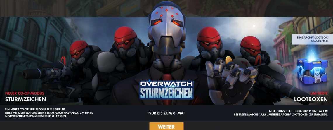 """Overwatch """"Sturmzeichen"""" ist online – holt Euch jetzt die 9 neuen Skins"""