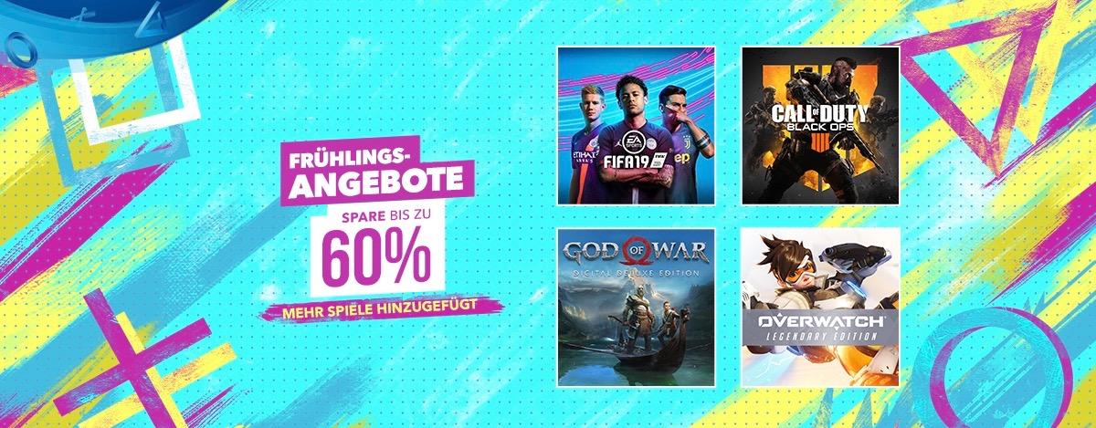 PS Store erweitert Frühlingsangebote – Satte Rabatte auf weitere Top-Titel