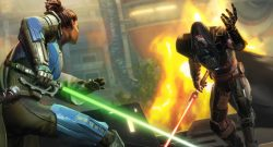 SWTOR Onslaught Malgus Lightsaber Sith title 1140x445