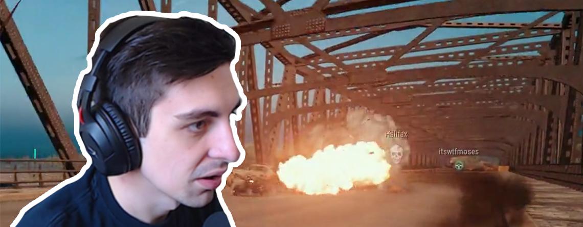 Streamer Shroud trifft in PUBG auf Suizidbomber – Kann nur noch lachen