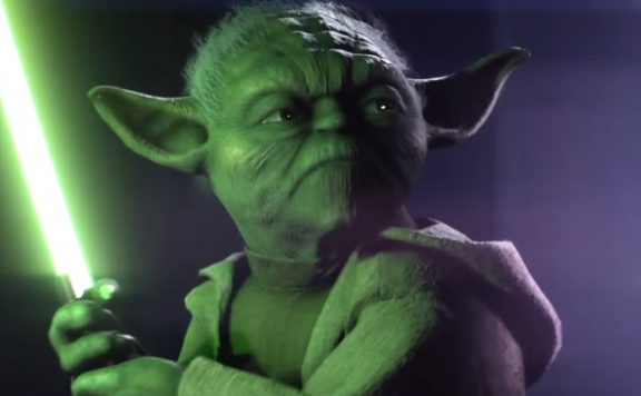 Star Wars Battlefront 2 Yoda