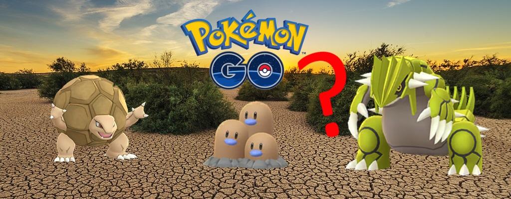 Pokémon GO: Das Boden Event ist jetzt aktiv – Das sind die Boni
