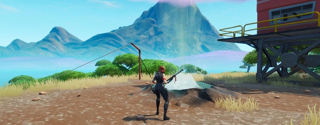 Fortnite: So reitet ihr 3 unterschiedliche Geysire, ohne zu landen, für Woche 9