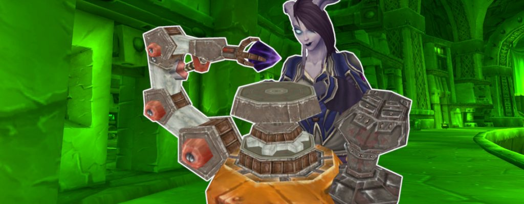WoW Draenei Female Jewel Crafting title