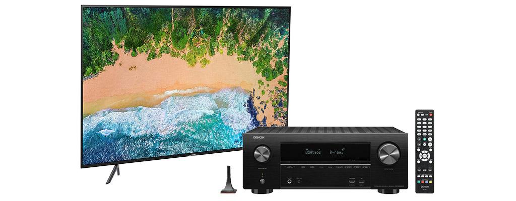 Samsung 4K-TVs und AV-Receiver von Denon – Amazon Frühlings-Angebote