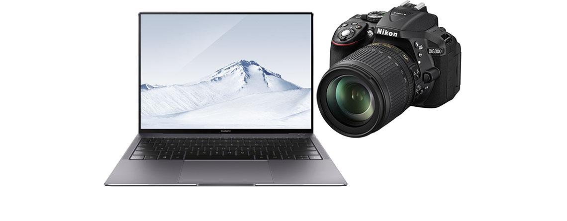 Amazon Frühlings-Angebote-Woche – Huawei MateBook X Pro, Nikon Kamers