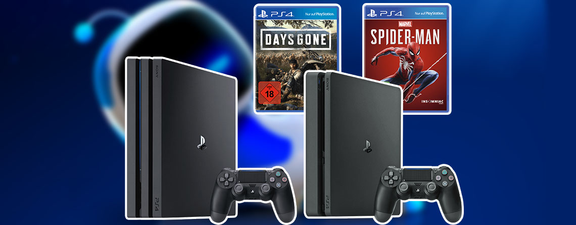 PS4 Slim Bundles stark reduziert – Amazon Frühlings-Angebote-Woche