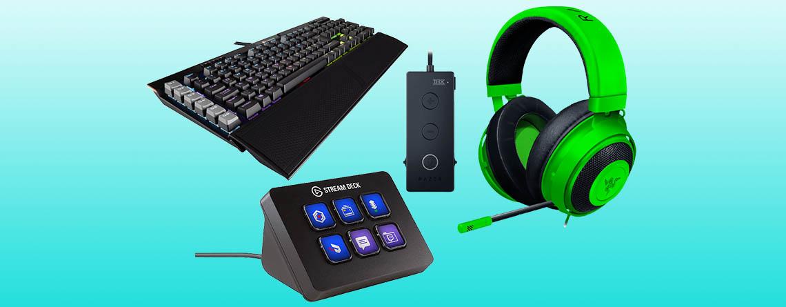 Amazon Frühlingsangebote: Bis zu 56% Rabatt auf PC-Gaming Zubehör