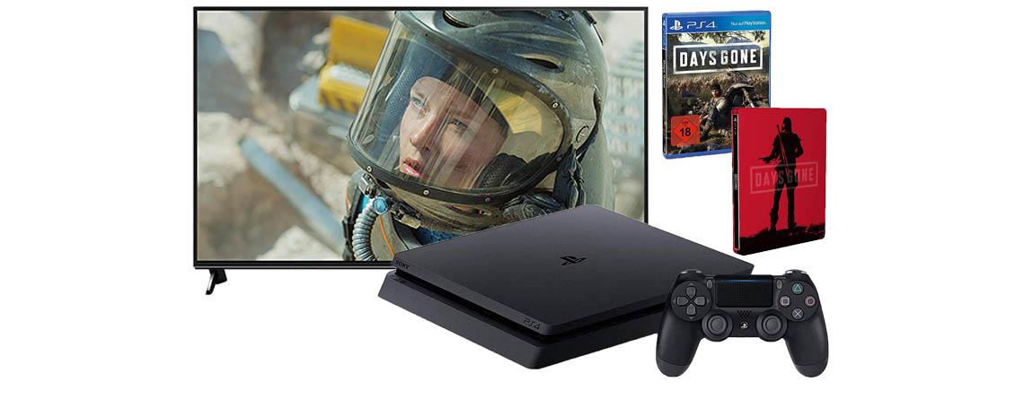 Verlängerung der Amazon Frühlingsangebote – PS4 Slim, 4K-TVs
