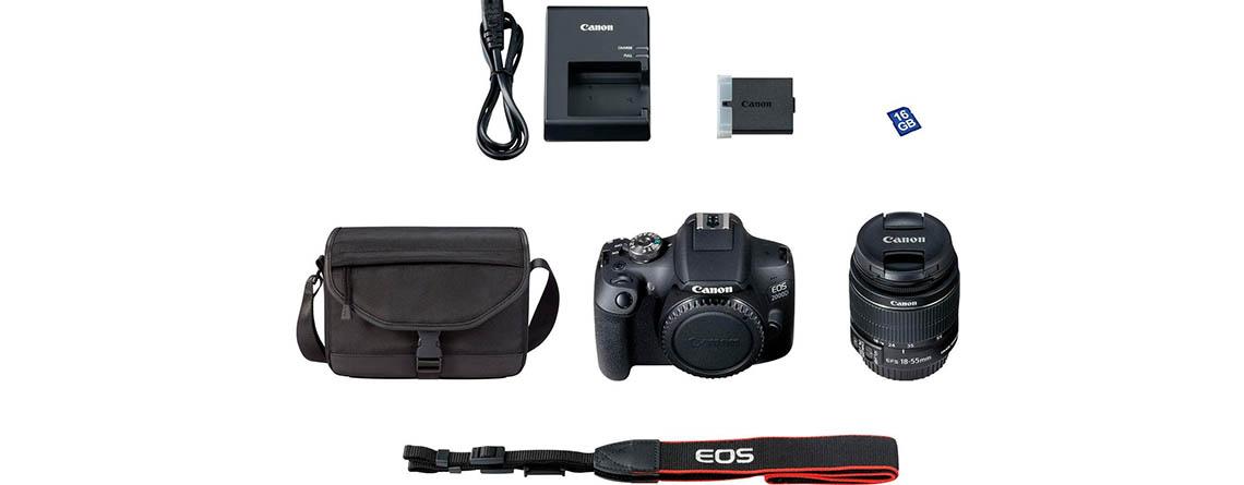 Canon EOS 2000D im Set besonders günstig – Angebote bei OTTO