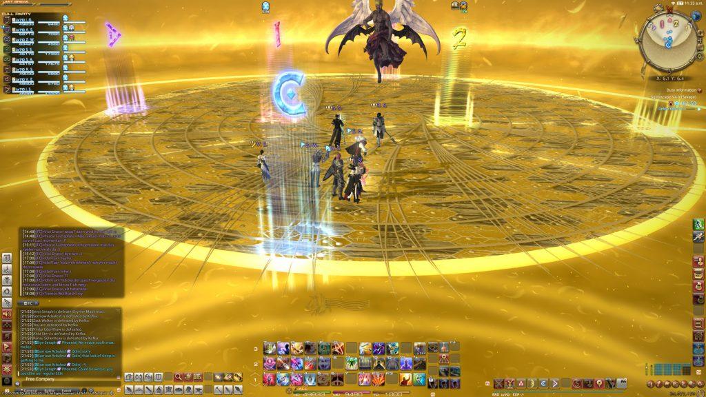final fantasy xiv omega raid kefka
