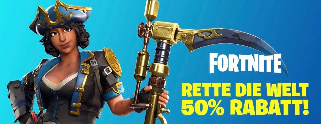 Neues Angebot im PS Store: Holt Euch Fortnite Gründerpakete 50% günstiger