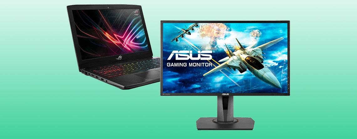 MediaMarkt: ASUS 144 Hz Monitor und Gaming-Notebook im Angebot