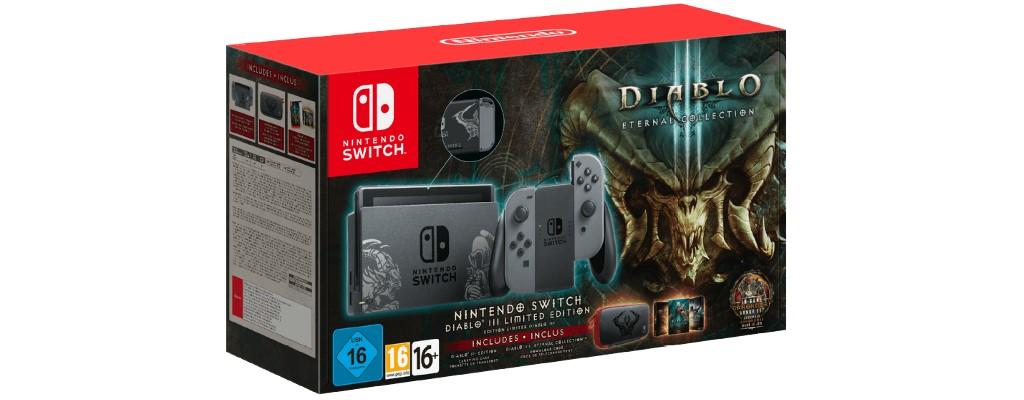 Nintendo Switch im Bundle mit Diablo 3 bei Saturn stark reduziert