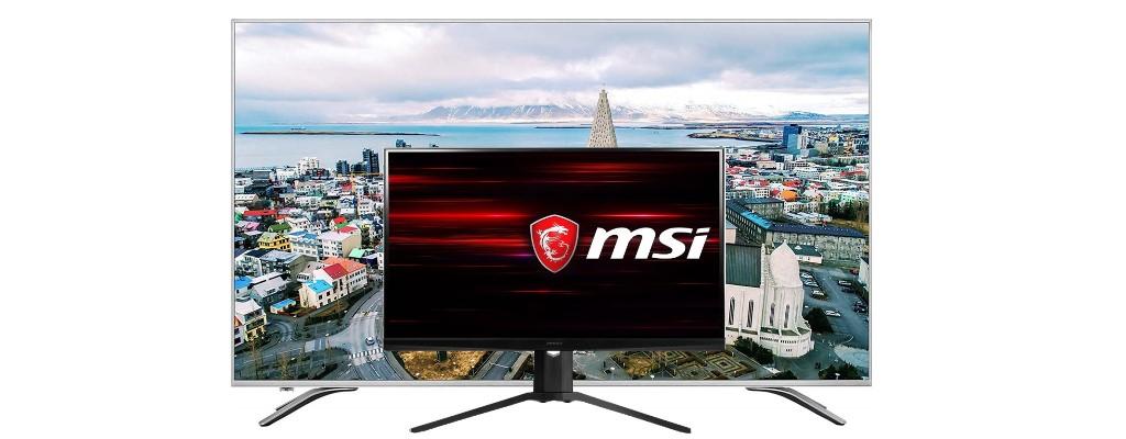 MSI-Monitor mit 240 Hz und UHD-TV von Hisense bei Amazon reduziert