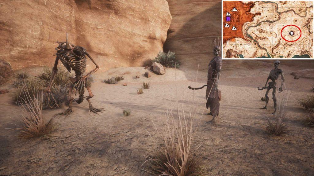 Conan-Exiles-Skelette-als-Sklaven-mit-Fundort