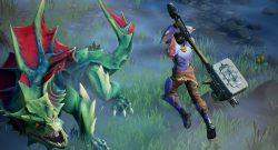 Dauntless Screenshot Slayer bekämpft Drask titel