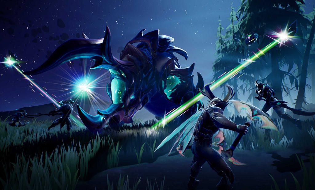 Dauntless Screenshot viele Slayer bekämpfen Behemoth