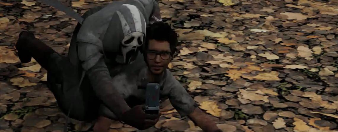 Dieser Killer aus Dead by Daylight macht ein Selfie, wenn er Euch ermordet