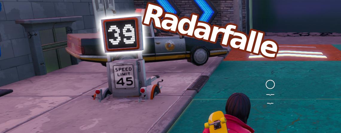 Fortnite: So erreicht ihr in City Chaos eine Geschwindigkeit von über 30 bei Radarfallen