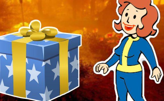 Fallout 76 Fan freut sich über Geschenk Titel