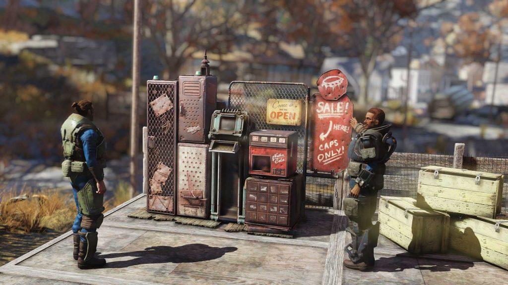 Fallout 76 Spieler Shops