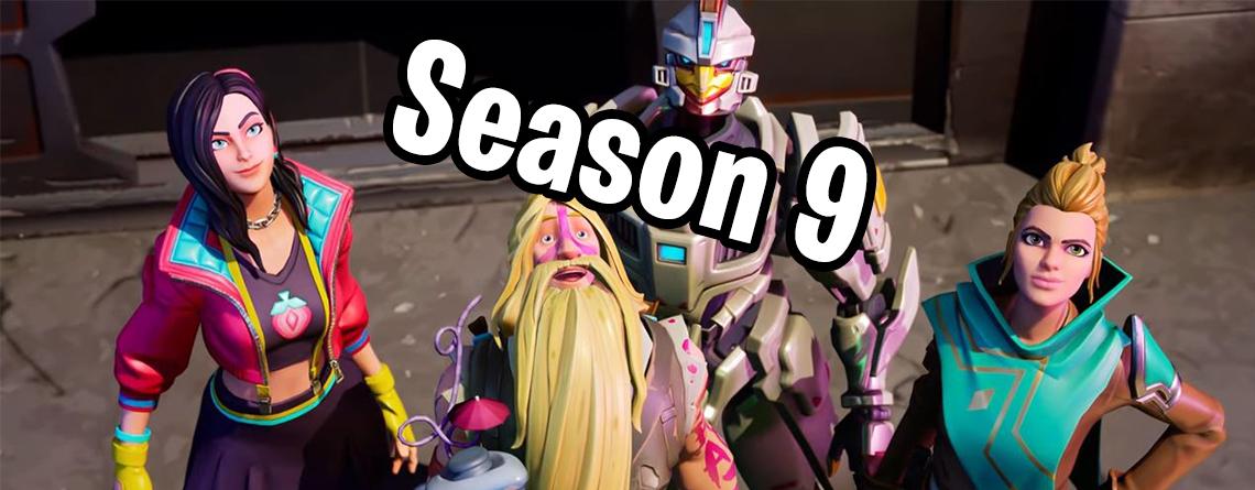 Fortnite: Trailer zu Battle Pass für Season 9 zeigt neue Skins – Flasht mehr als Season 8!