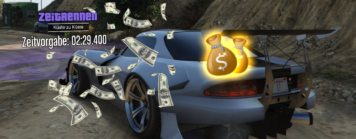 Holt Euch in GTA Online jetzt 102.000 $ in knapp 2 Minuten – Zeitrennen