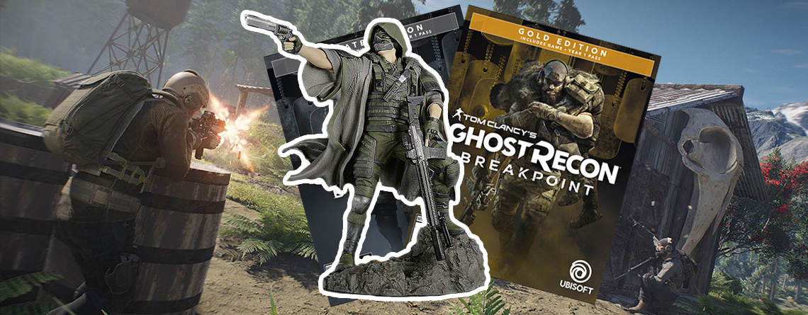 Ghost Recon Breakpoint vorbestellen – So unterscheiden sich die Editionen